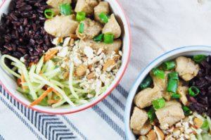 FullSizeRender 1 3 300x199 - Healthy Teriyaki Chicken Bowl For Meal Prep