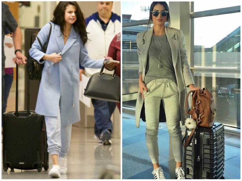 monochrome look - The Formula for Effortless Airport Style