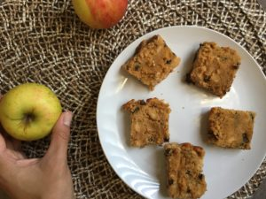 IMG 8176 300x225 - Paleo Apple Blondie Recipe