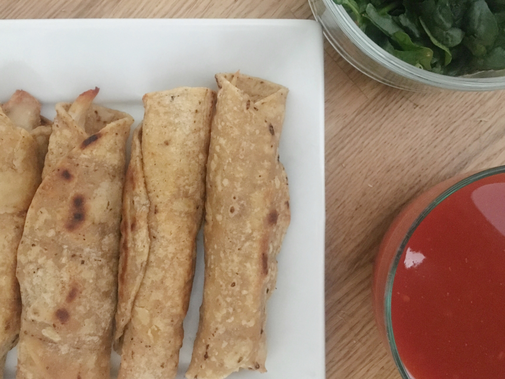 image 1024x768 - Easy Rotisserie Chicken Taquito Recipe